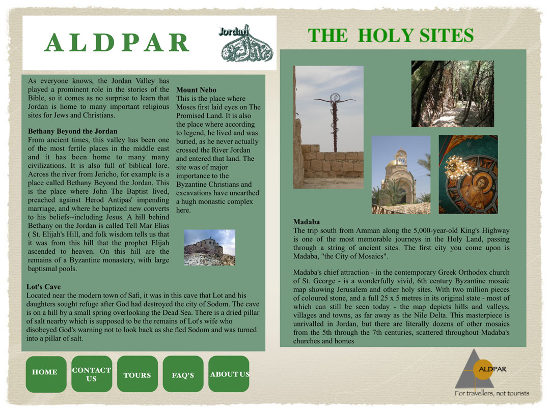 The Holy Sites